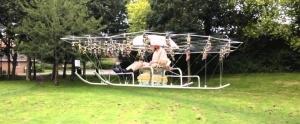 Toplam 54 Drone Kullanılarak Yapılan Devasa Hava Aracı