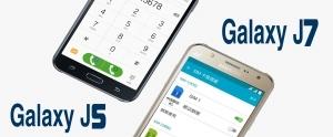 Samsung Galaxy J5 ve J7'nin 2016 Modelleri Geliyor!
