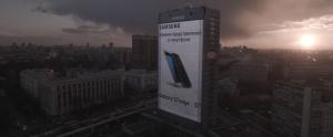 Samsung'un Devasa Boyutlardaki Galaxy S7 edge Reklam Panosunu Gördünüz mü?