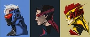 Popüler Karakterlerin Birbirinden Şahane Tasarımları