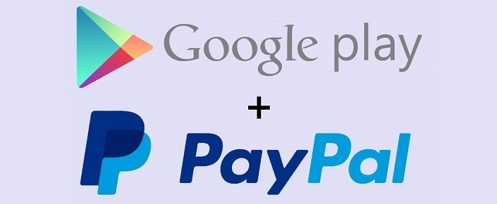 how to pay for google play paypal