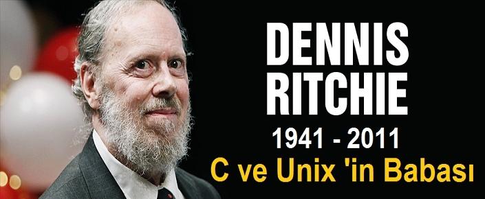 Önemli bir ismini anıyoruz dennis ritchie dennis macalistair ritchie