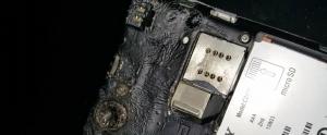 Türkiye'deki Bir Sony Xperia L Kendi Kendine Yandı!