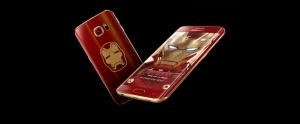 Iron Man Temalı Samsung Galaxy S6 Edge Resmi Olarak Duyuruldu