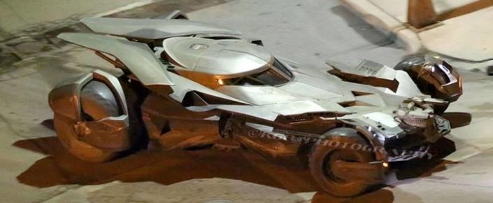 Yeni Batmobile'den Detaylı Görseller Geldi