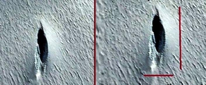 Antarktika'da 76 Metre Uzunluğunda Bir UFO Tespit Edildi!