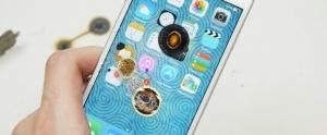 iPhone 6'nın Ekranına 3 Tane Kızgın Demir Top Koyarsanız Ne Olur?