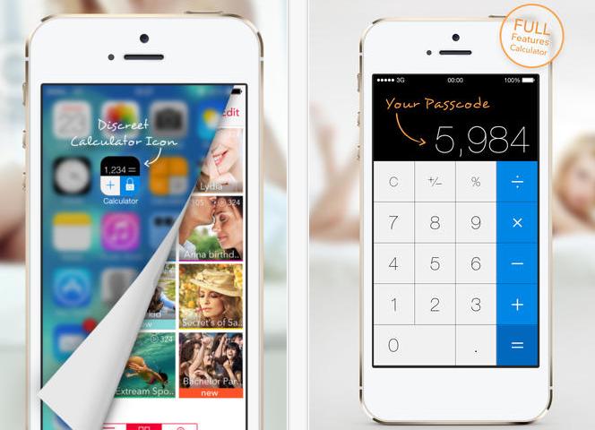 iPhone'da Hesap Makinesi Görünümlü Gizli Kasa!