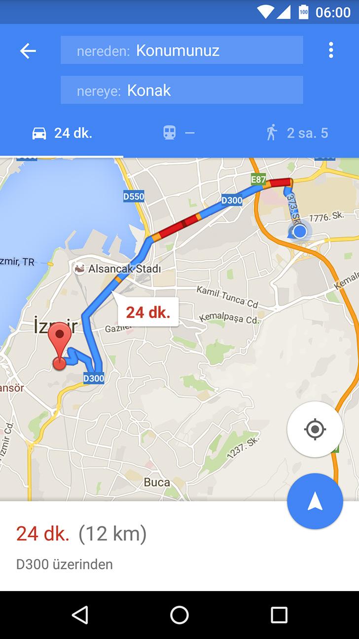 google maps dk