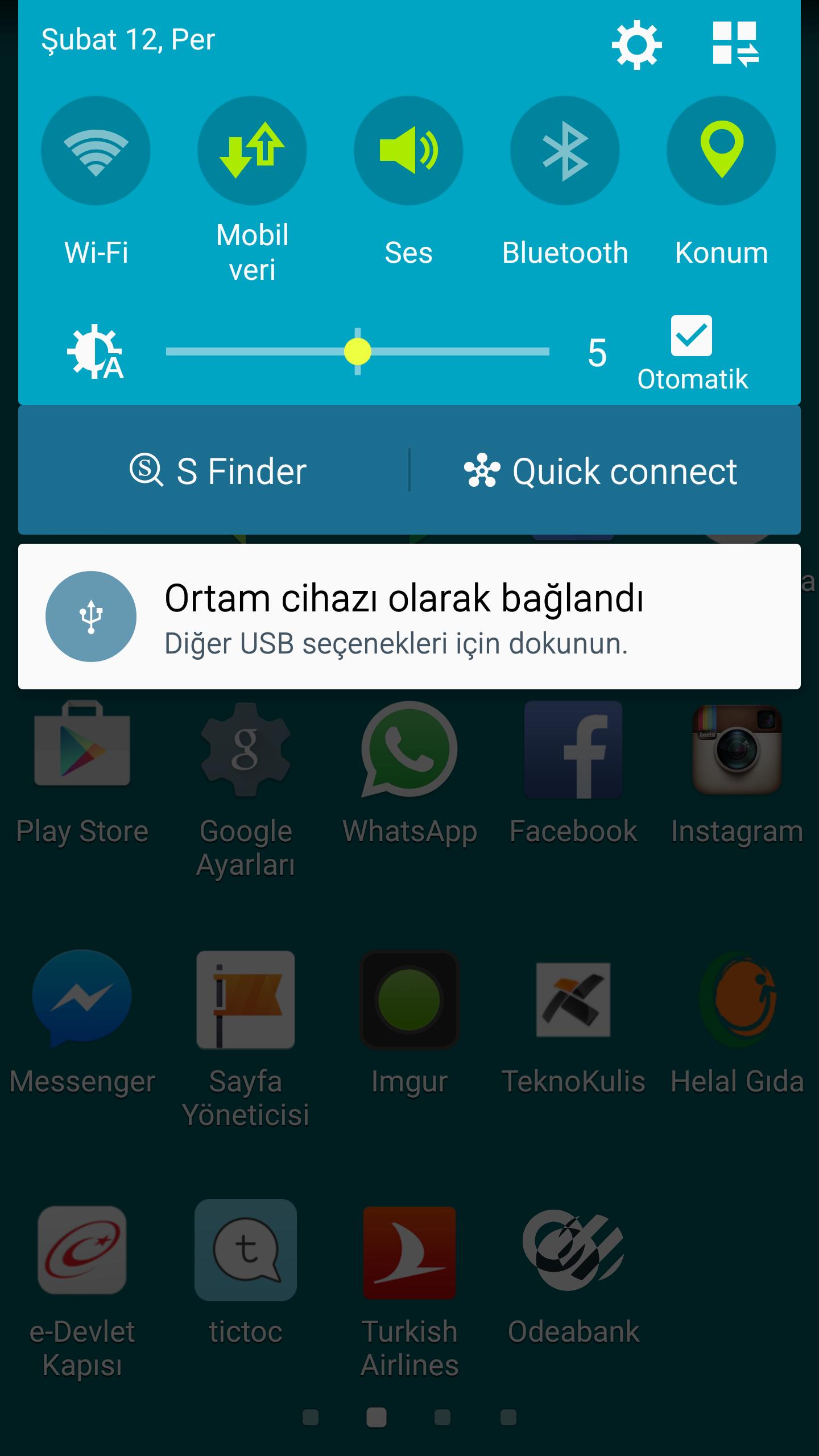 Samsung s6 arama kaydı görünmüyor