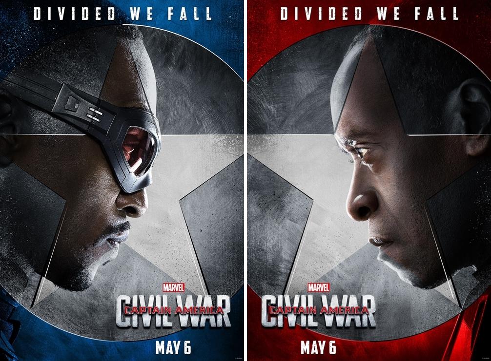 Captain America Civil War Dan Yepyeni Karakter Posterleri