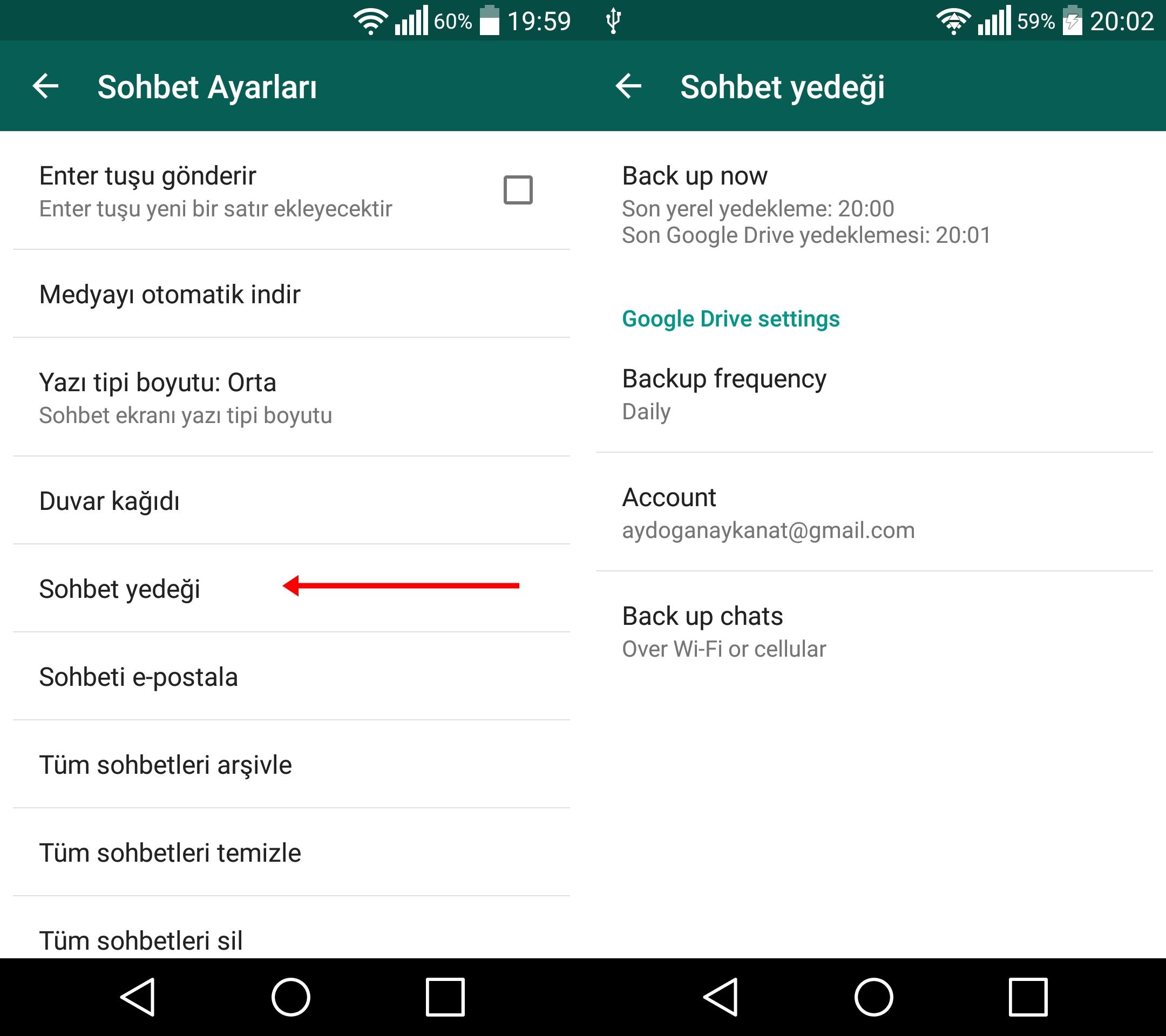 Silinen Mesajlarımı Nasıl Geri Alabilirim (Android)