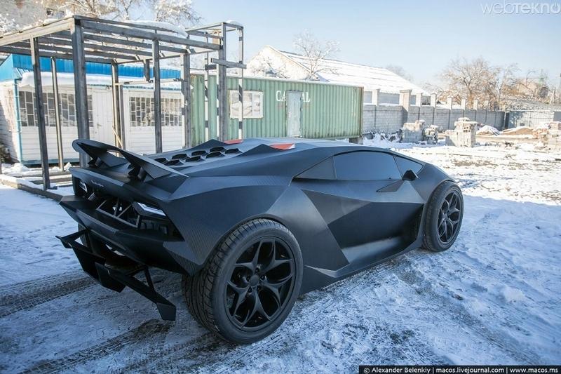 2 Milyon Dolarlik Lamborghini Sesto Elemento Yu 15 Bin Lira