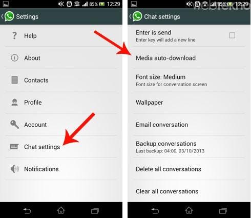 WhatsApp'ta Silinen Mesajları Geri Getirme