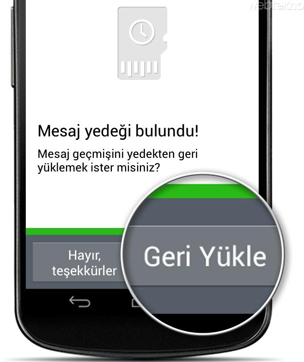 whatsapp konuşma geçmişi başka hat takınca görülebilir mi