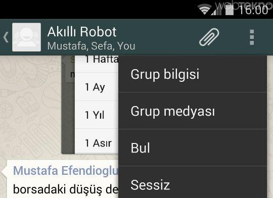 WhatsApp'ta silinen mesajları okuma yöntemi [Nasıl yapılır?] - LOG