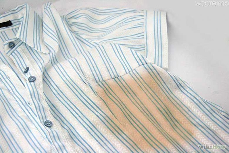 Yağ dökülmüş elbiselerde kullanın