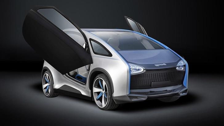 Solar Enerji İle Çalışan Araba