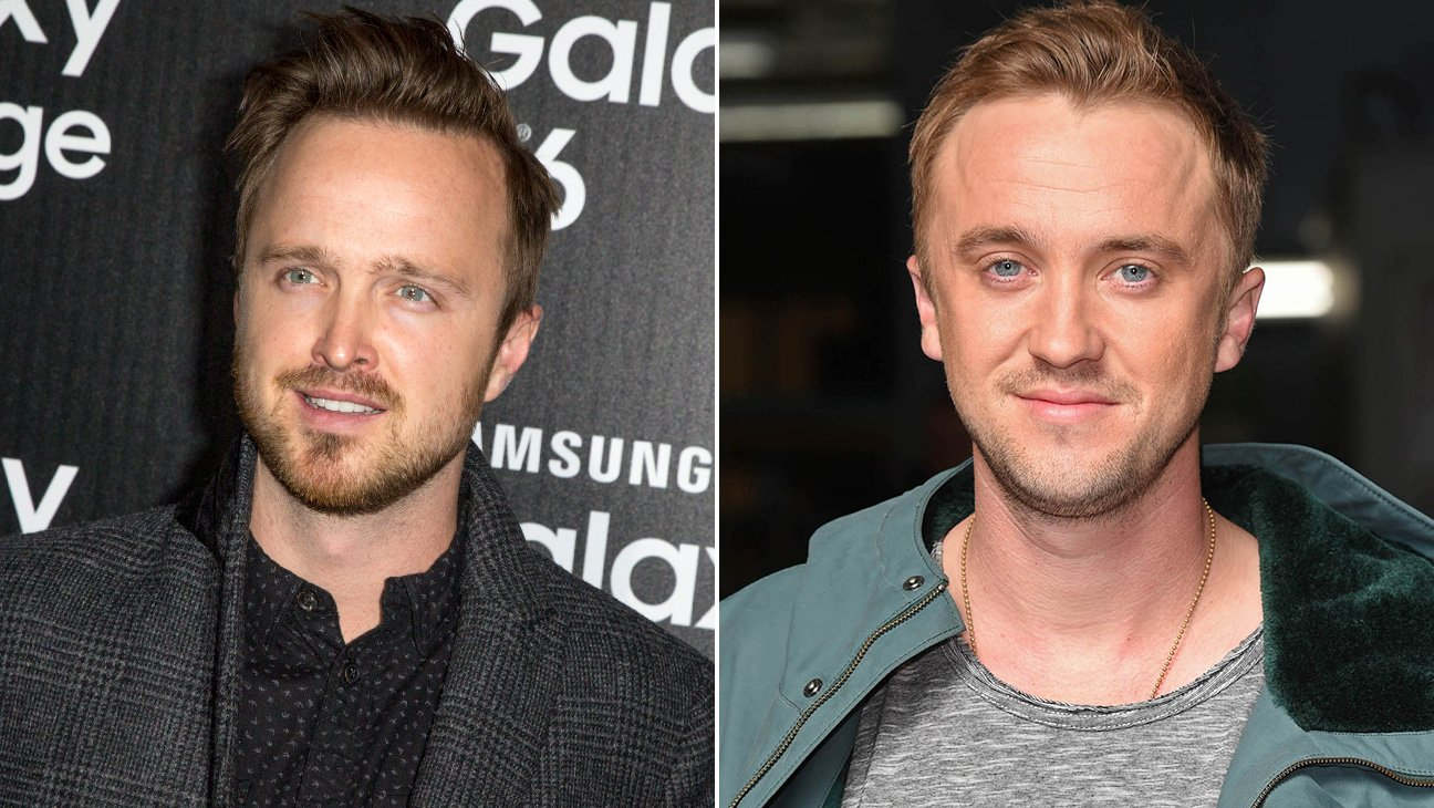 Aaron Paul - Tom Felton