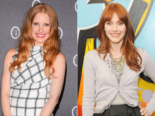Jessica Chastain - Bryce Dallas Howard