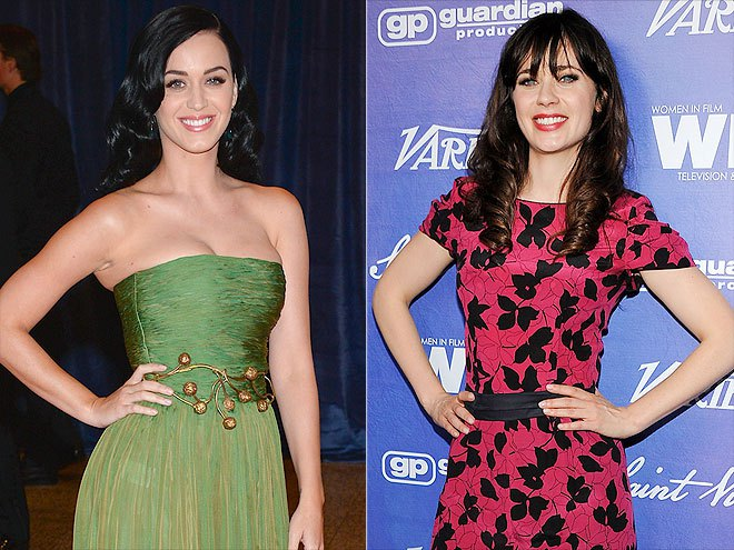 Katy Perry - Zooey Deschanel
