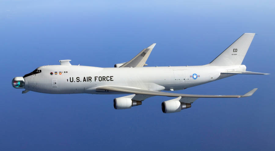 Lazer Uçağı