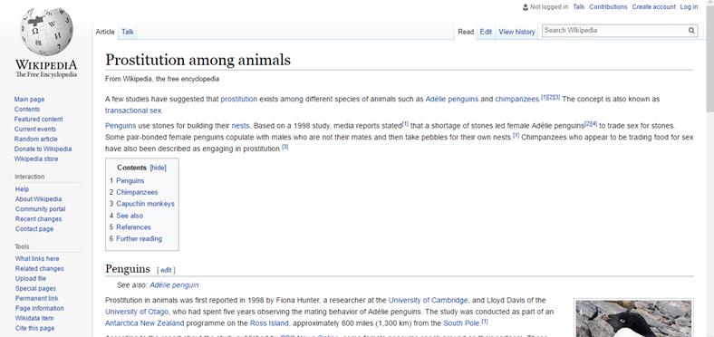 Hayvanlar arasında fuhuş