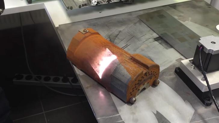 Лазерный очиститель металла своими руками