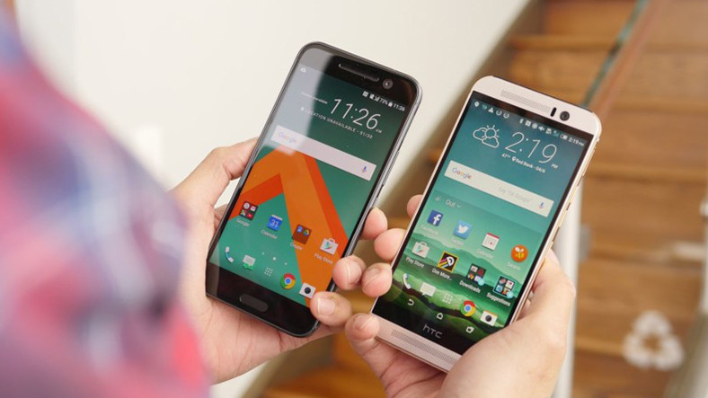 HTC 10 ve HTC One M9 a Android 7 0