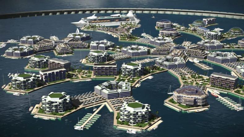 Dünyanın İlk 'Yüzen Şehri'nin İnşaat Anlaşması İmzalandı