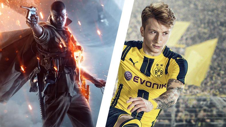Tüm Kutulu FIFA 17 ve Battlefield 1 Oyunları İçin Özel