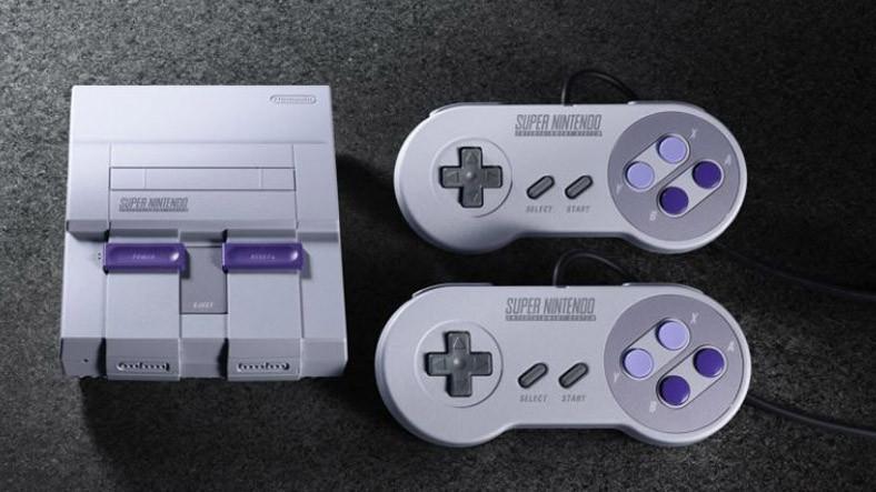 Nintendo Efsane Oyun Konsolu SNES Classic Edition'u Duyurdu