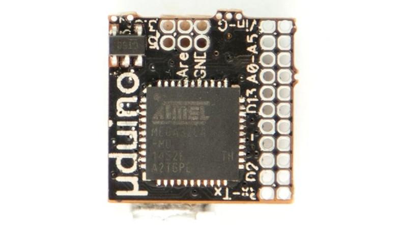 Tırnak Kadar Arduino Kartı Üretildi!