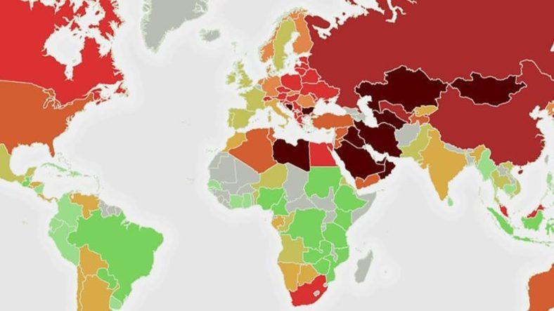 Dünyanın En Kirli 135 Ülkesi Belli Oldu Peki Türkiye Kaçıncı