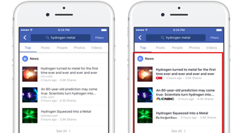 Facebook Sahte Haber Sorununu Bitirmek İçin Yeni Bir Özellik Getirdi