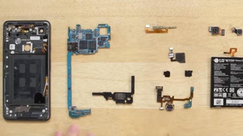 Google Pixel 2 XL Parçalarına Ayrılıp Yeniden Birleştirildi