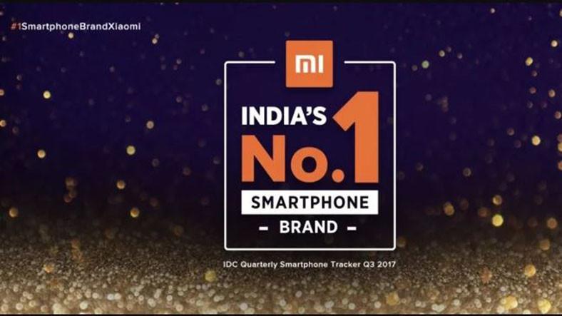 Xiaomi Hindistan'da Akıllı Telefon Markaları Arasında 1 Sıraya Yerleşti