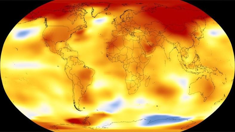 2017 Yılı Dünya'nın Kaydedilen En Sıcak Yıllarından Biriydi