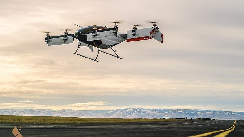 Airbus, Uçan Taksi Vahana'nın İlk Videosunu Yayınladı