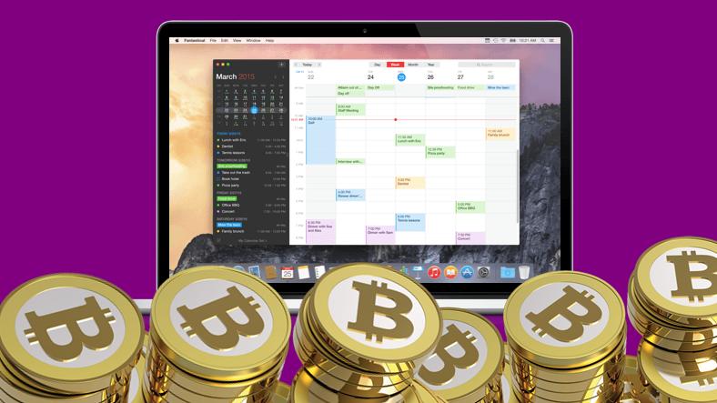 Mac App Store'da Kripto Para Madenciliği Yapan Bir Takvim Uygulaması