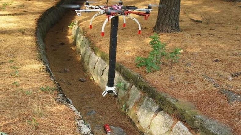 Dronelar, Yeni Katlanabilir Robotik Kollar İle Çöp Toplayacak