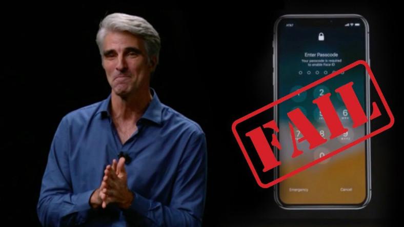 iPhone X,  Face ID Hatasını Reklamında da Gizleyemedi