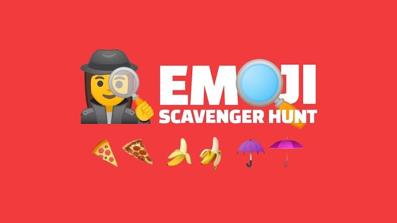 Google'dan Yapay Zeka Tabanlı Yeni Oyun: Emoji Scavenger Hunt