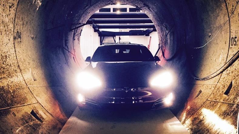 Elon Musk'tan Boring Company Tünellerine Bedava Gezi İmkanı!