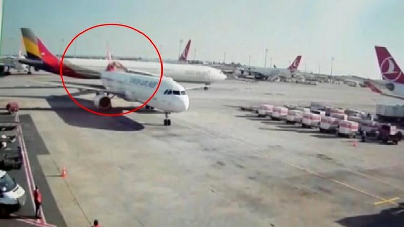 Atatürk Havalimanı Apronunda Uçak Kazası Yaşandı (Video)