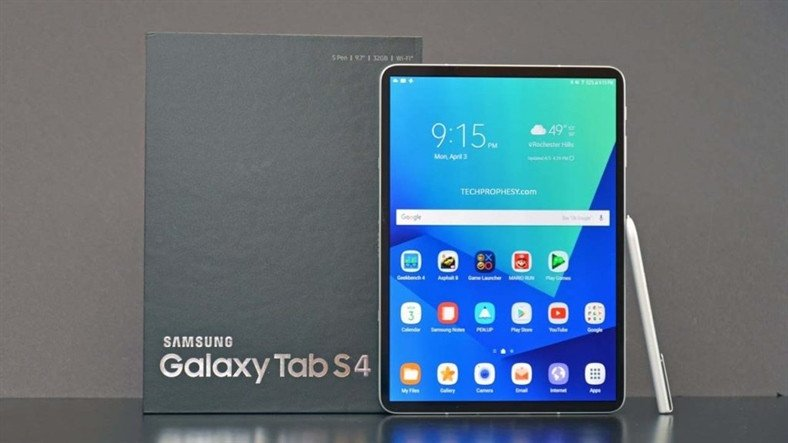 Samsung'un Snapdragon 835'li Yeni Tableti Galaxy Tab S4'ün Geekbench Değerleri