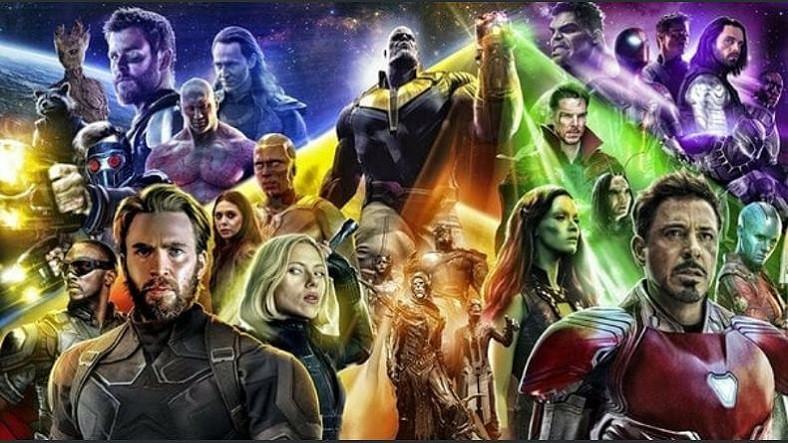 Avengers Infinity War Tüm Zamanların En Çok İzlenen 4 Filmi