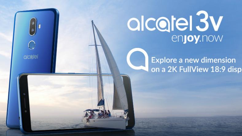 Bütçe Dostu Alcatel 3V'nin Fiyatı ve Özellikleri Duyuruldu
