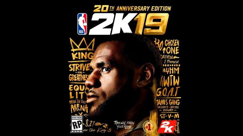 Lebron James Kapaklı NBA 2K19