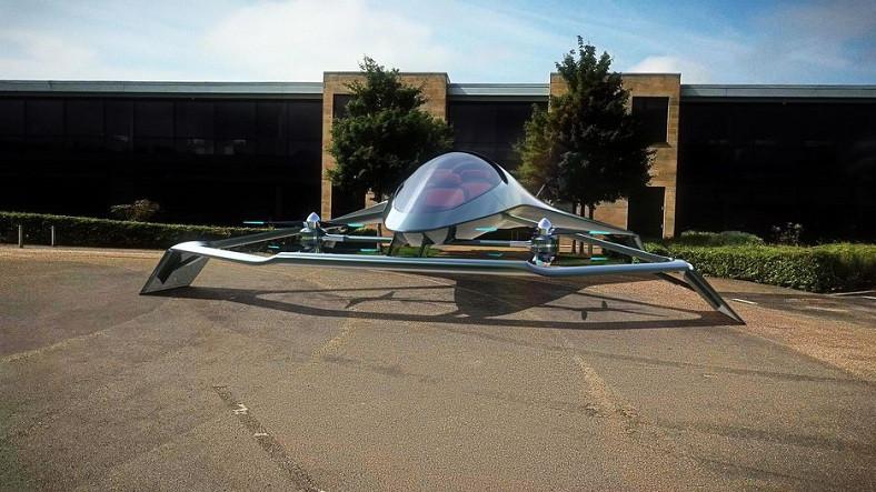 Aston Martin'in Bilim Kurgu Filmlerinden Fırlamış Gibi Duran Uçan Otomobili: Volante Vision